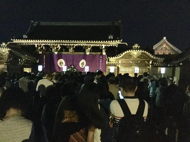 西本願寺のライトアップ_f0064017_23335797.jpg