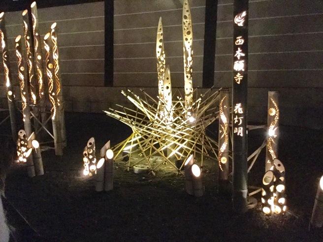 西本願寺のライトアップ_f0064017_23374135.jpg