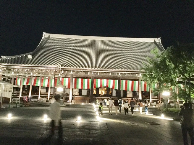 西本願寺のライトアップ_f0064017_23375617.jpg