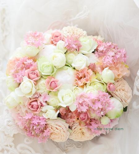 花のギフト、ご結婚2周年の記念に ご主人さまから奥様へ_a0042928_1516353.jpg
