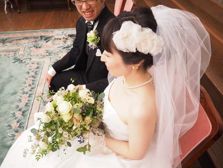 新郎新婦様からのメール ホテルセンチュリー相模大野の花嫁様より ブーケは一人の参列者のように_a0042928_15442371.jpg
