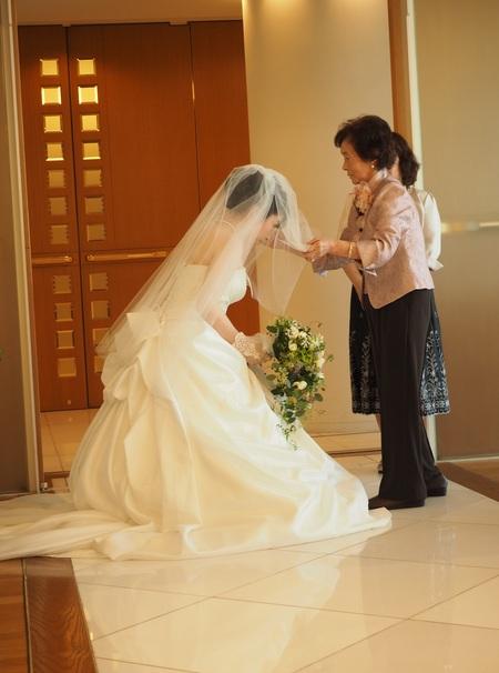 新郎新婦様からのメール ホテルセンチュリー相模大野の花嫁様より ブーケは一人の参列者のように_a0042928_16195712.jpg