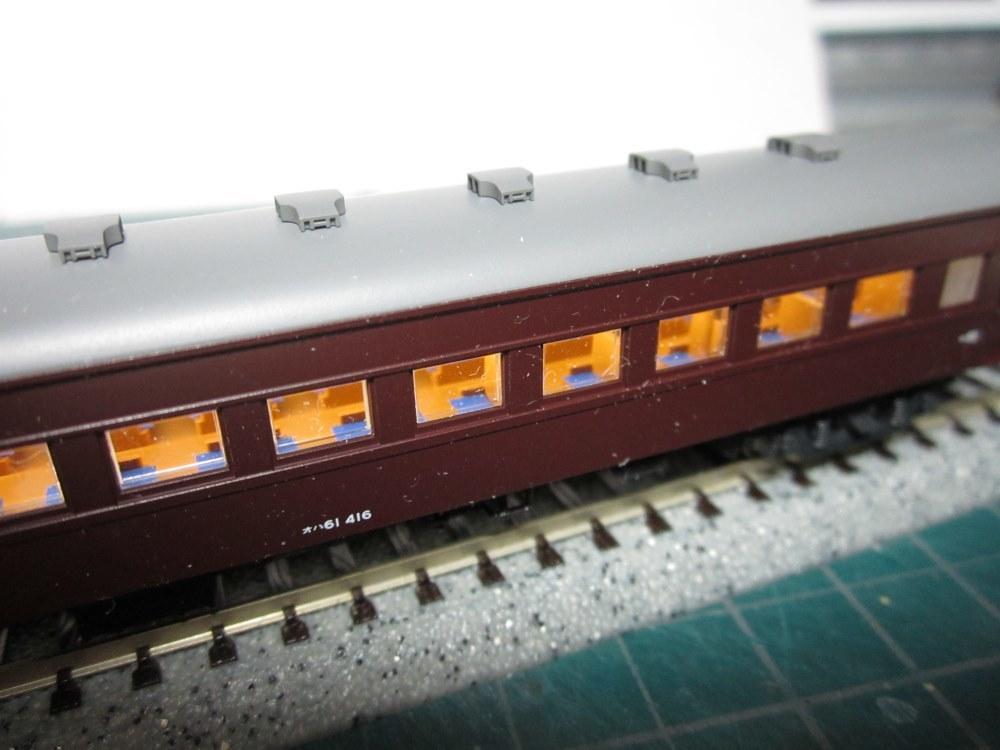 KATO オハ61系客車(特別企画品)をイジろう その2_e0120143_13050472.jpg