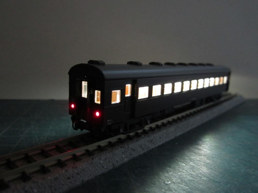 KATO オハ61系客車(特別企画品)をイジろう その2_e0120143_13054269.jpg