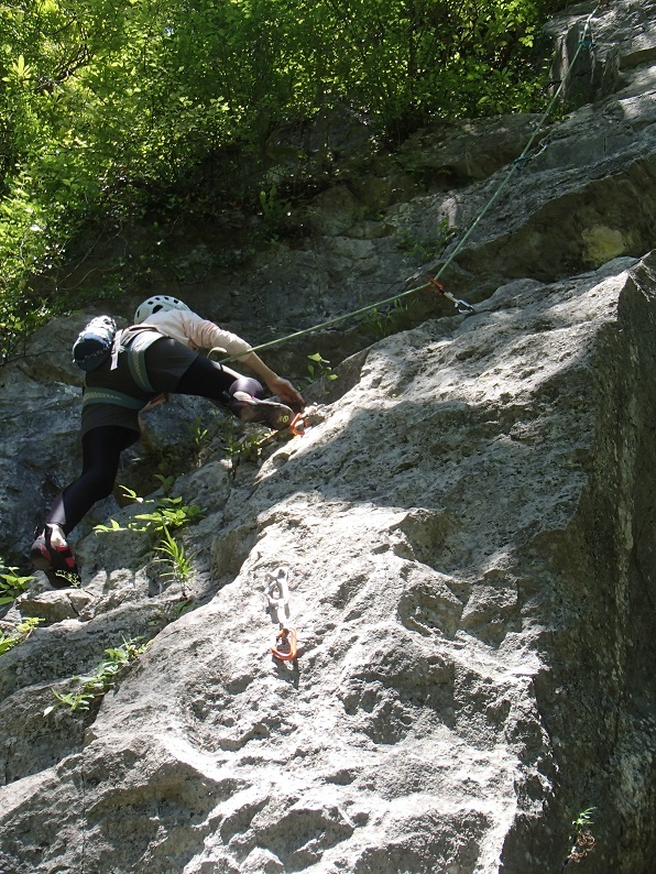 岩登り教室Ⅱ_d0007657_06161553.jpg