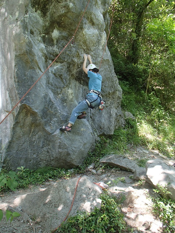 岩登り教室Ⅱ_d0007657_06222168.jpg