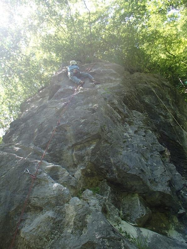 岩登り教室Ⅱ_d0007657_06230858.jpg