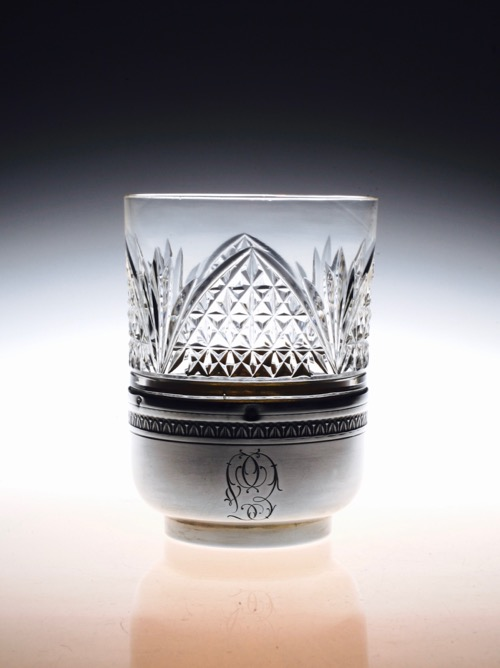 Baccarat tumbler with SILVER Holder_c0108595_23203353.jpg