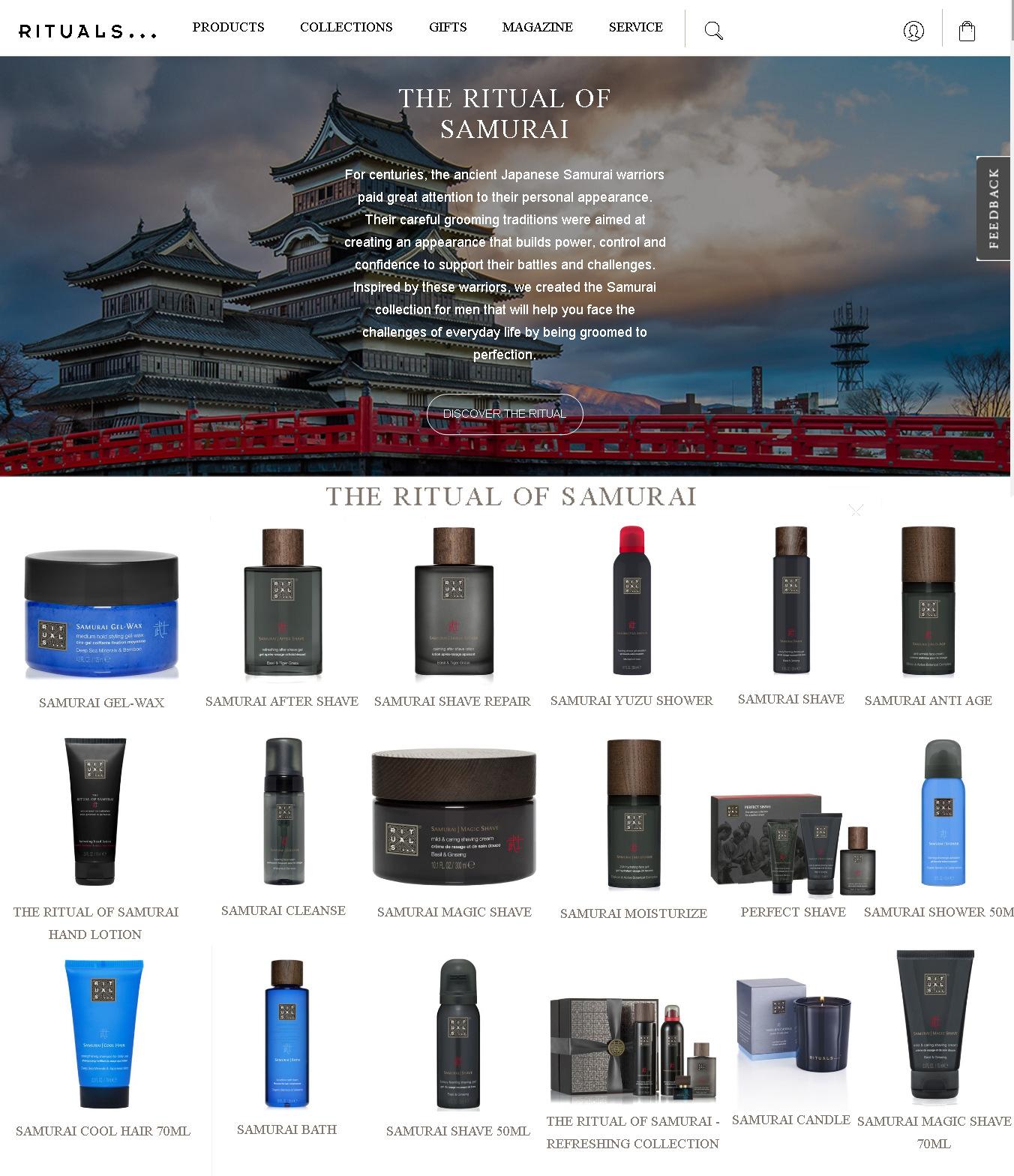 サムライ・シャンプーはいかがでしょう? RITUALS Home & Body Cosmetics_b0007805_23491973.jpg