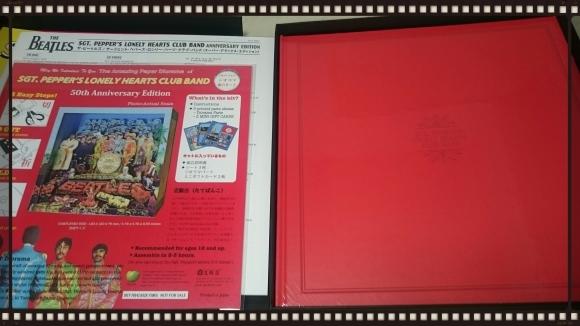 THE BEATLES / SGT. PEPPER\'S LONELY HEARTS CLUB BAND 50周年記念エディション<6枚組スーパー・デラックス>_b0042308_23540647.jpg