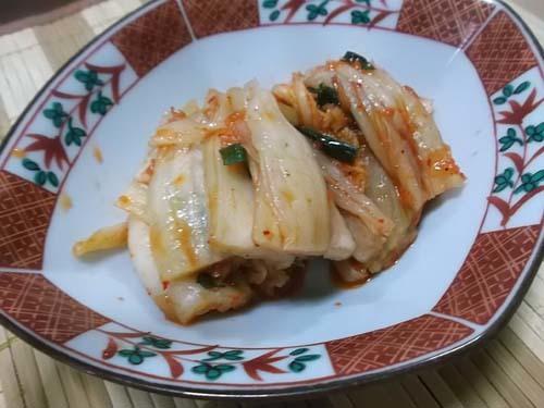 油麩丼(あぶらふどん)&自家製白菜キムチ_f0019498_21155849.jpg