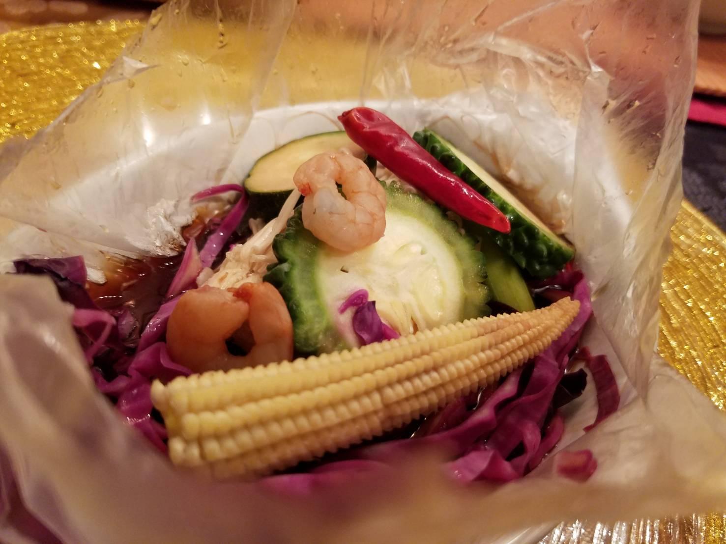 新作タジン風小海老と彩り野菜のサラダ_a0019032_1922081.jpg