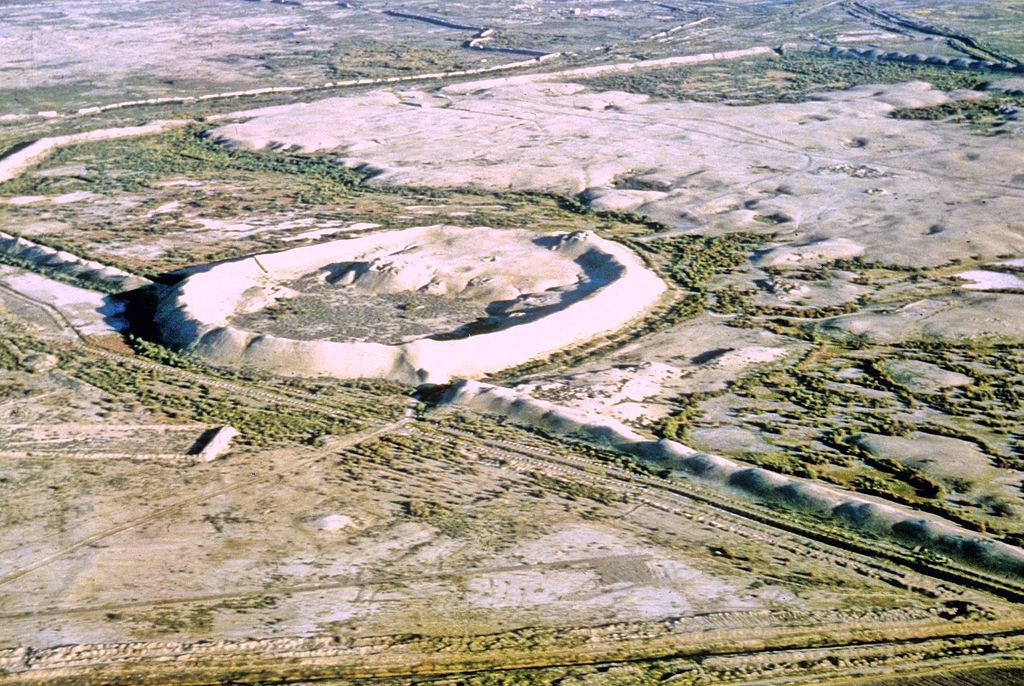 トルクメニスタンの旅(18) メルブ遺跡 エルク・カラ、グヤウル・カラ_c0011649_13464818.jpg