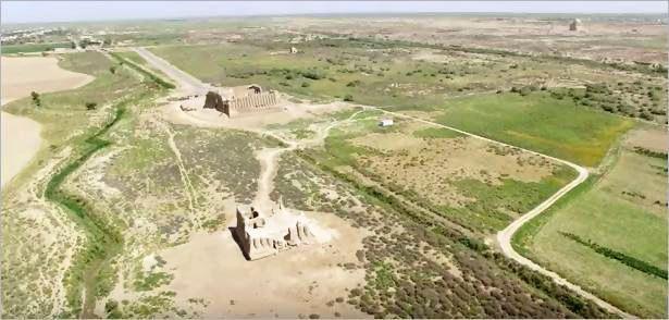トルクメニスタンの旅(17) 世界遺産メルブ遺跡 キズカラ_c0011649_13471263.jpg