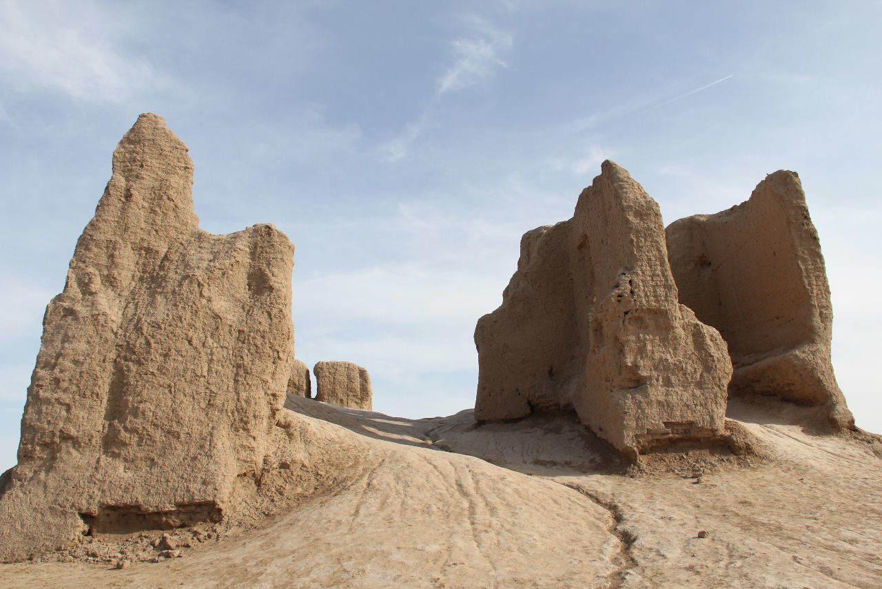 トルクメニスタンの旅(17) 世界遺産メルブ遺跡 キズカラ_c0011649_22012029.jpg