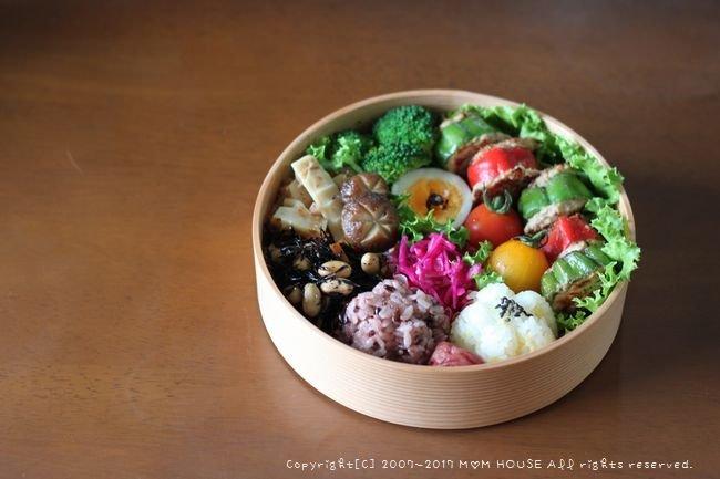 スタッフド・ピーマン&常備菜いろいろ(๑¯﹃¯๑)♪_c0139375_10325497.jpg