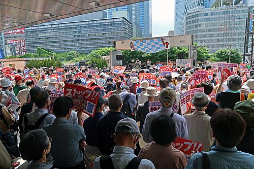 一億三千万人共謀の日 新宿ヘイトデモを許すな 統一マダン東京_a0188487_13462797.jpg