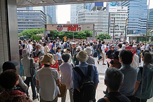 一億三千万人共謀の日 新宿ヘイトデモを許すな 統一マダン東京_a0188487_13464860.jpg