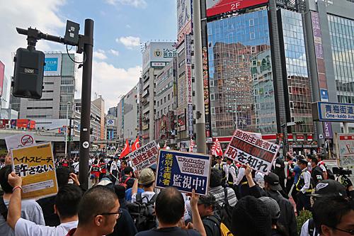 一億三千万人共謀の日 新宿ヘイトデモを許すな 統一マダン東京_a0188487_1347232.jpg
