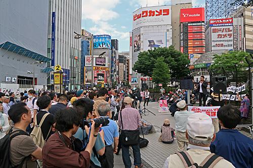一億三千万人共謀の日 新宿ヘイトデモを許すな 統一マダン東京_a0188487_13483525.jpg
