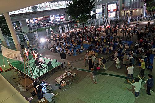 一億三千万人共謀の日 新宿ヘイトデモを許すな 統一マダン東京_a0188487_1349593.jpg