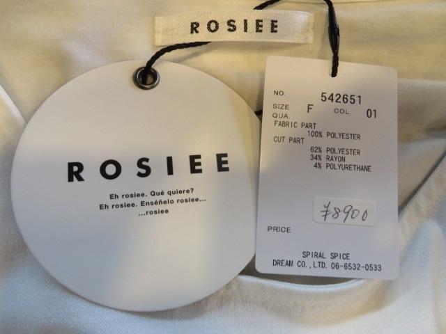 ロージー / ROSIEE 布帛切り替え絞りT_e0076692_18125676.jpg