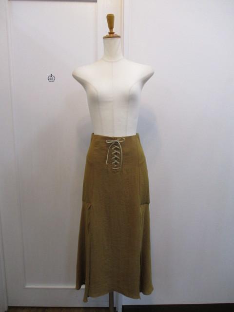 トゥデイフル TODAYFUL   Lace Up Slit Skirt_e0076692_19240157.jpg