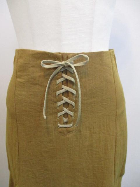 トゥデイフル TODAYFUL   Lace Up Slit Skirt_e0076692_19243413.jpg