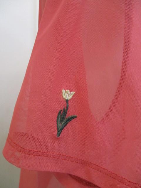 リリーブラウン Lily Brown フラワー刺繍カットトップス_e0076692_19335425.jpg
