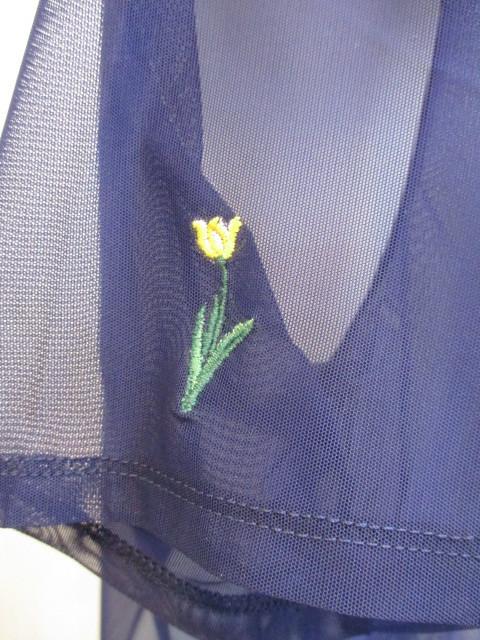 リリーブラウン Lily Brown フラワー刺繍カットトップス_e0076692_19351094.jpg