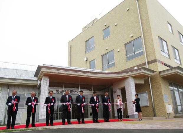保健センターが開所したのだ!_c0259934_15524738.jpg