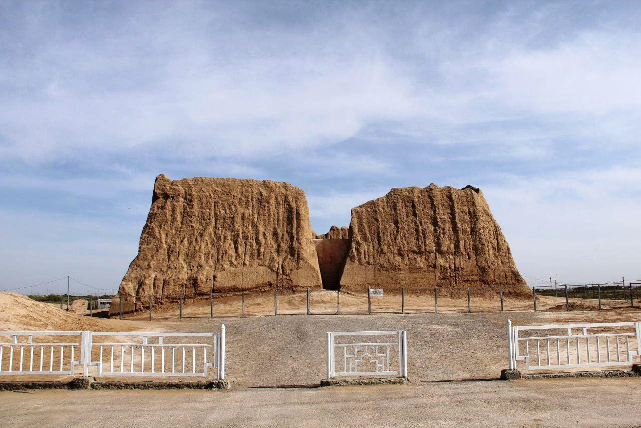 トルクメニスタンの旅(17) 世界遺産メルブ遺跡 キズカラ_c0011649_12583490.jpg