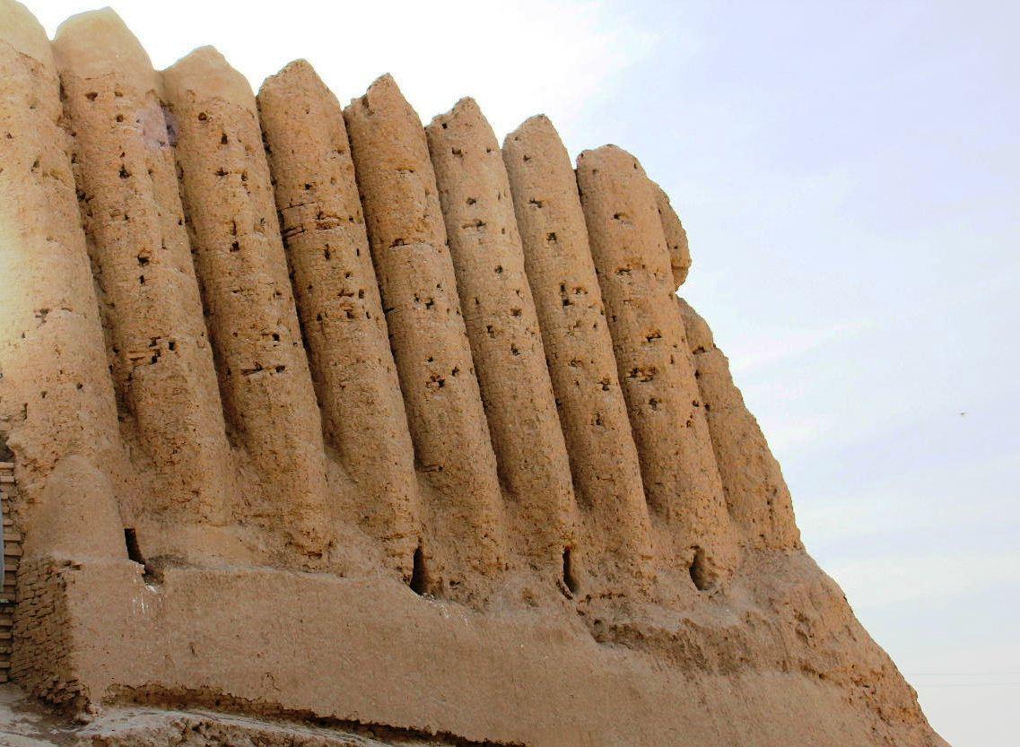 トルクメニスタンの旅(17) 世界遺産メルブ遺跡 キズカラ_c0011649_13055979.jpg