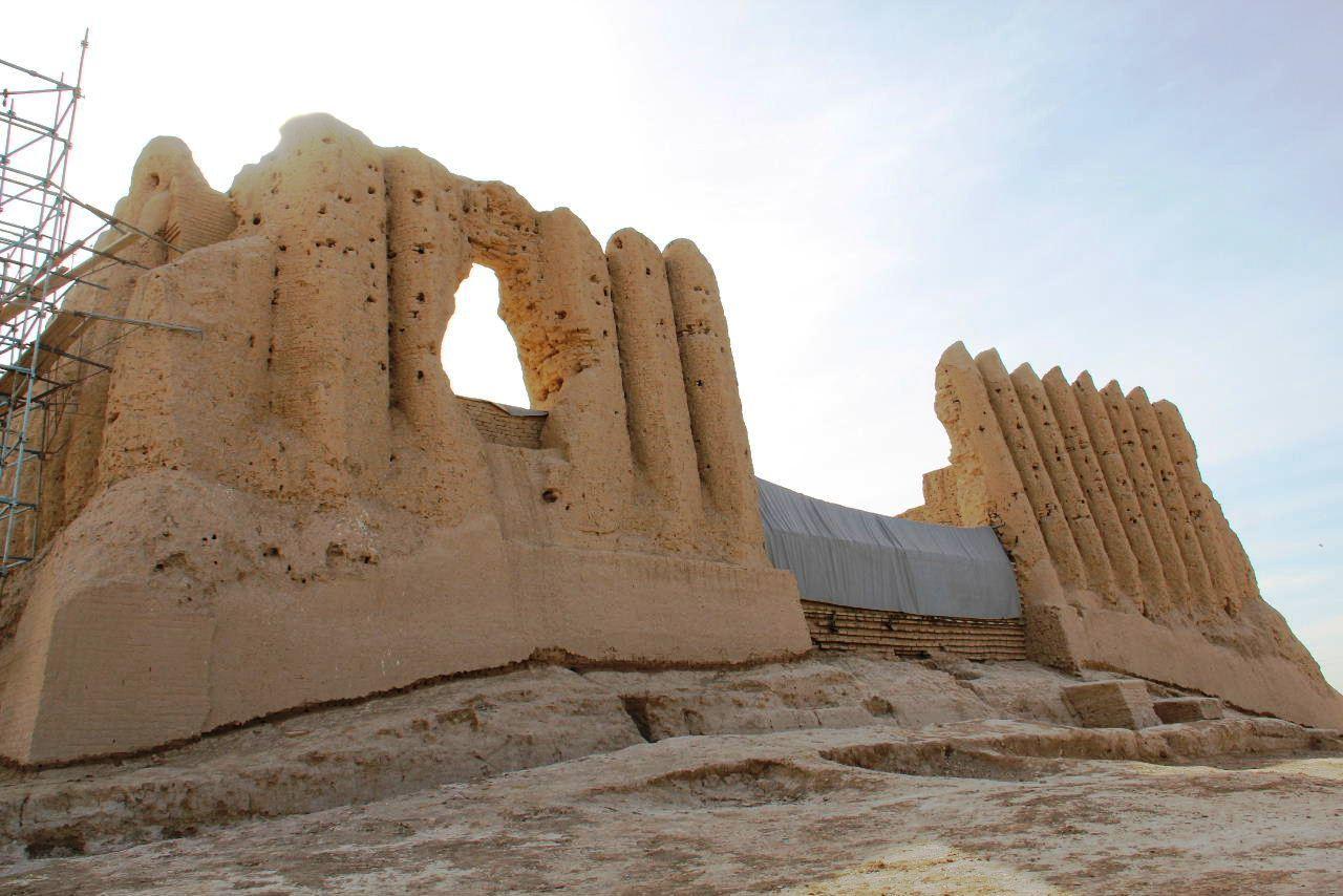トルクメニスタンの旅(17) 世界遺産メルブ遺跡 キズカラ_c0011649_13065653.jpg