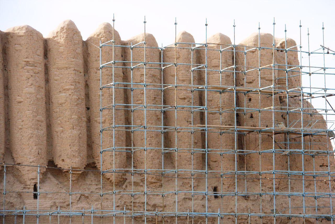 トルクメニスタンの旅(17) 世界遺産メルブ遺跡 キズカラ_c0011649_13080661.jpg