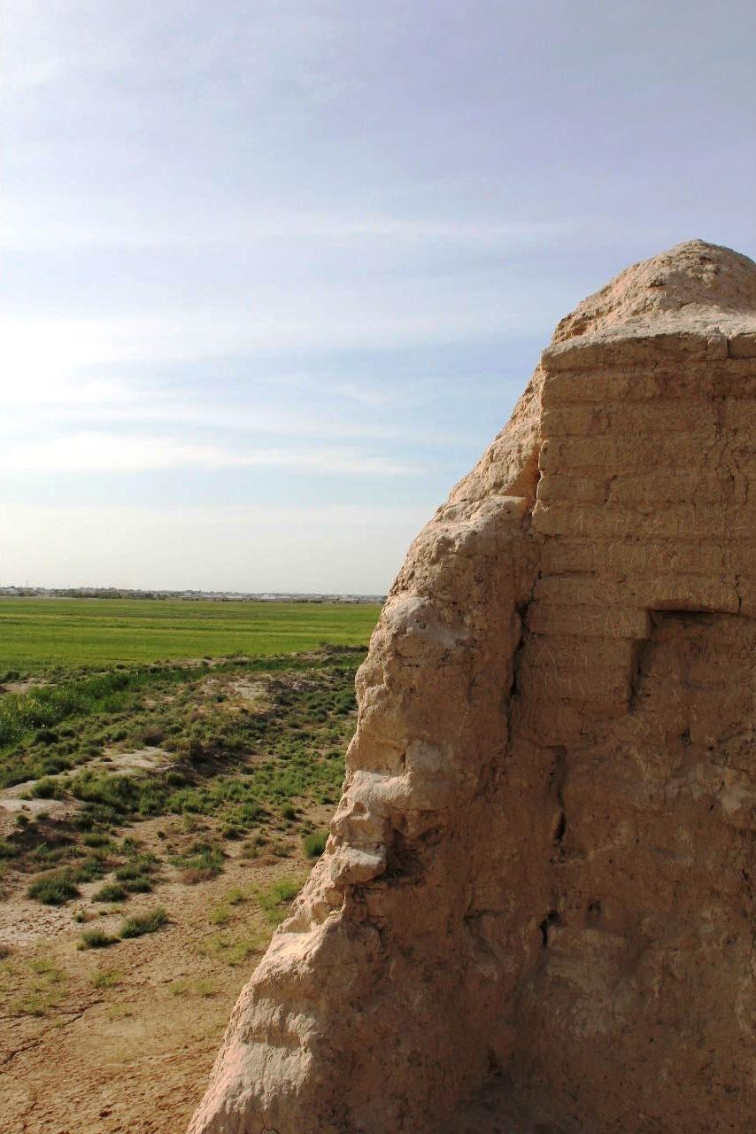 トルクメニスタンの旅(17) 世界遺産メルブ遺跡 キズカラ_c0011649_13375037.jpg