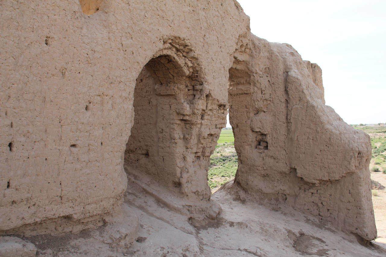 トルクメニスタンの旅(17) 世界遺産メルブ遺跡 キズカラ_c0011649_13381899.jpg