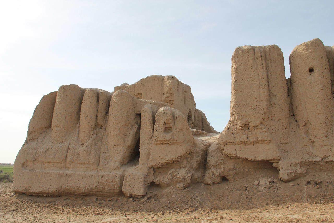 トルクメニスタンの旅(17) 世界遺産メルブ遺跡 キズカラ_c0011649_13384705.jpg