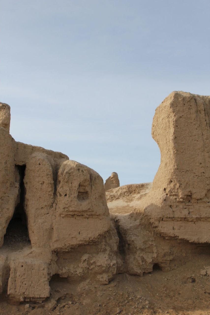トルクメニスタンの旅(17) 世界遺産メルブ遺跡 キズカラ_c0011649_13391321.jpg