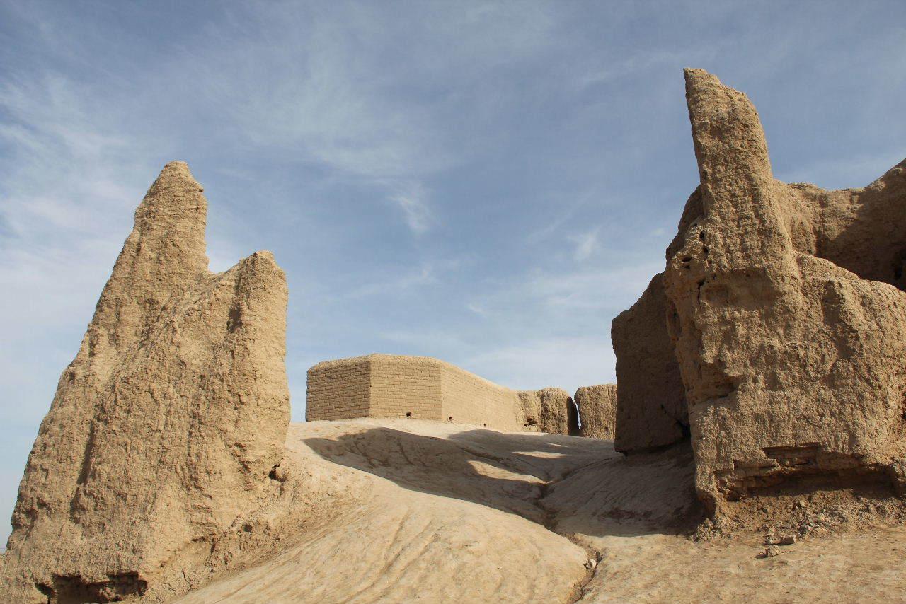 トルクメニスタンの旅(17) 世界遺産メルブ遺跡 キズカラ_c0011649_13402937.jpg