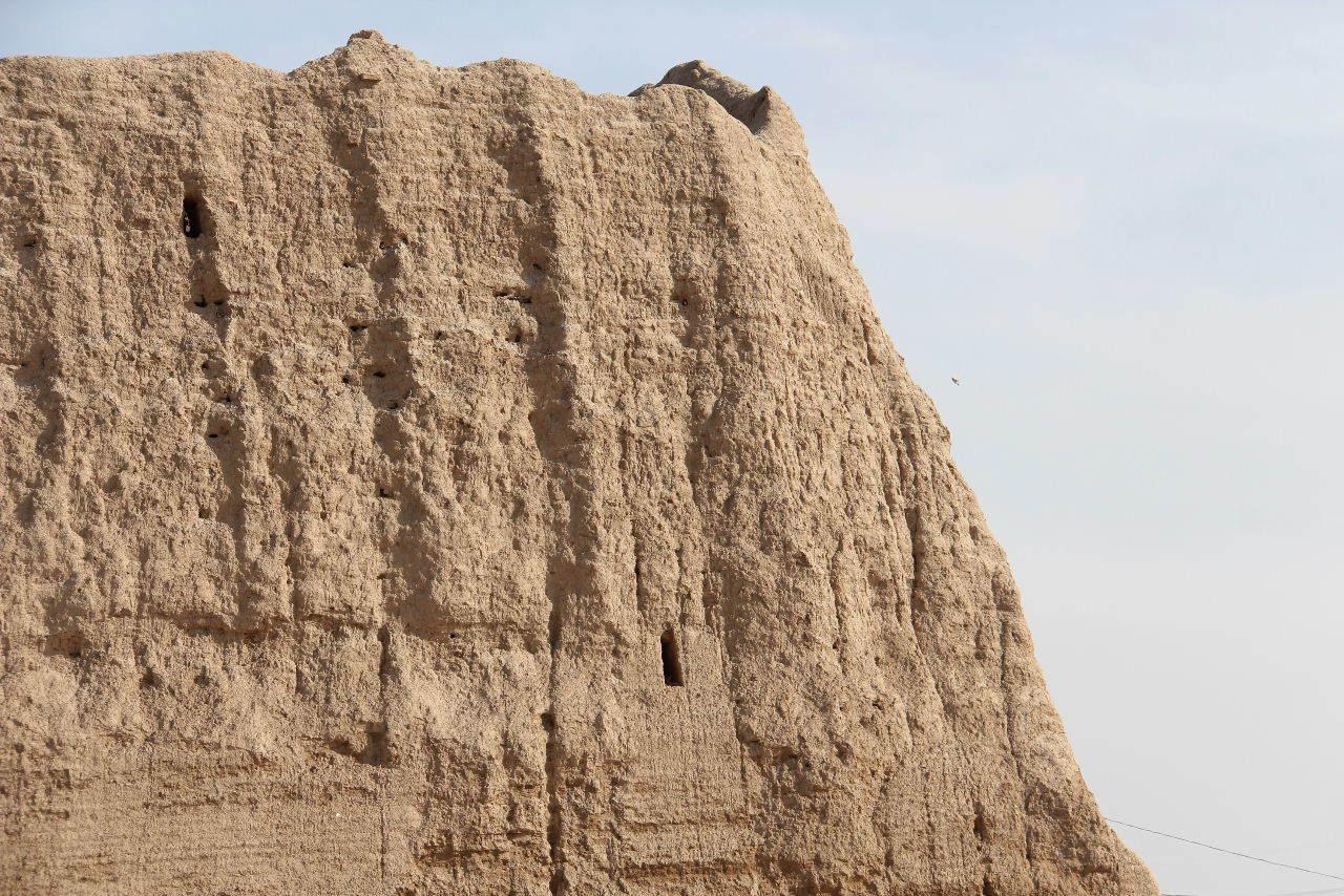 トルクメニスタンの旅(17) 世界遺産メルブ遺跡 キズカラ_c0011649_23264431.jpg