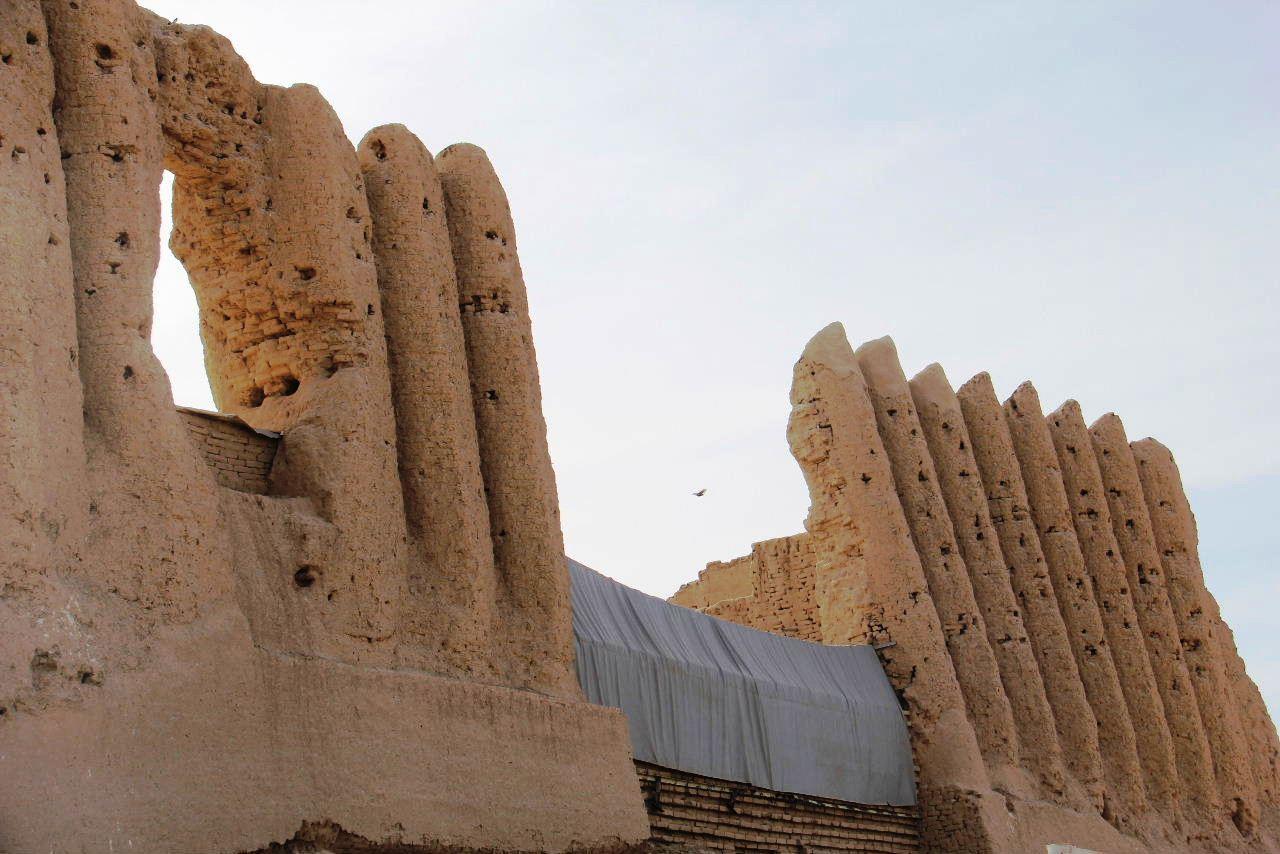 トルクメニスタンの旅(17) 世界遺産メルブ遺跡 キズカラ_c0011649_23285400.jpg