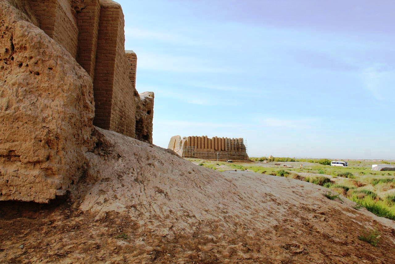 トルクメニスタンの旅(17) 世界遺産メルブ遺跡 キズカラ_c0011649_23395674.jpg