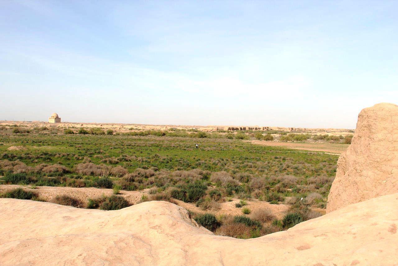 トルクメニスタンの旅(17) 世界遺産メルブ遺跡 キズカラ_c0011649_23403297.jpg