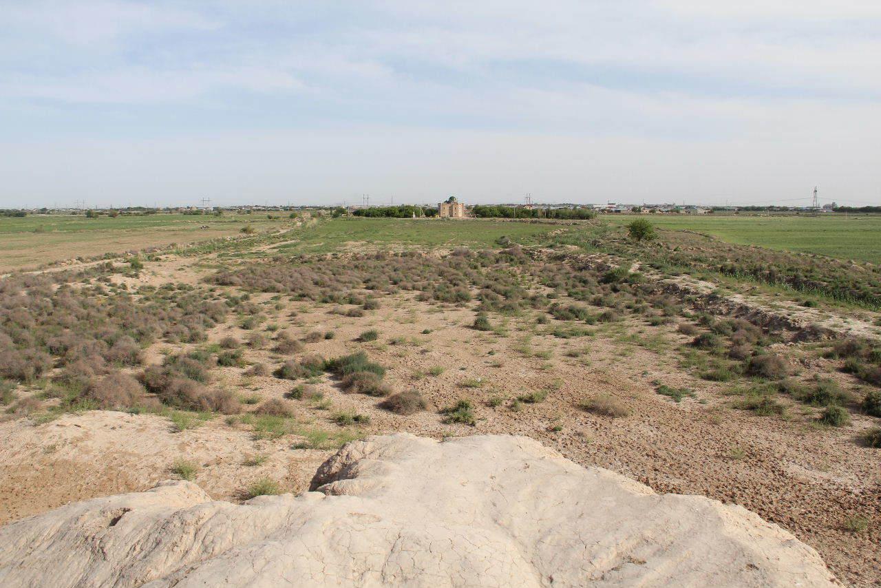 トルクメニスタンの旅(17) 世界遺産メルブ遺跡 キズカラ_c0011649_23441033.jpg