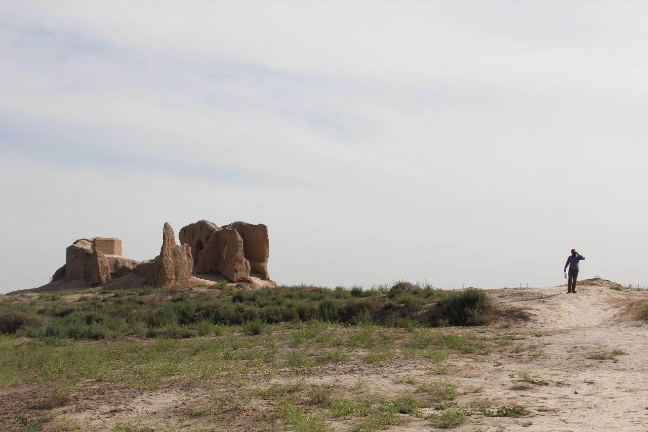 トルクメニスタンの旅(17) 世界遺産メルブ遺跡 キズカラ_c0011649_23450593.jpg