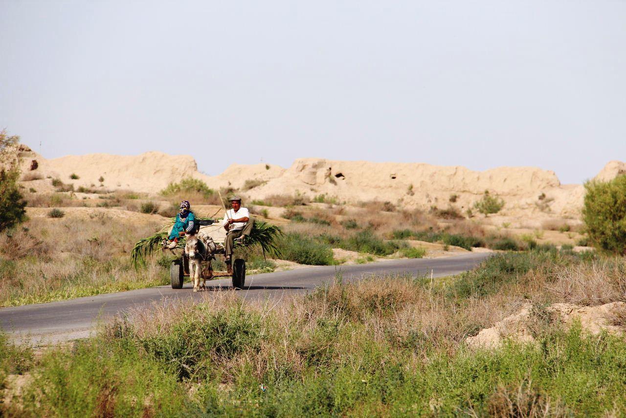 トルクメニスタンの旅(17) 世界遺産メルブ遺跡 キズカラ_c0011649_23453730.jpg