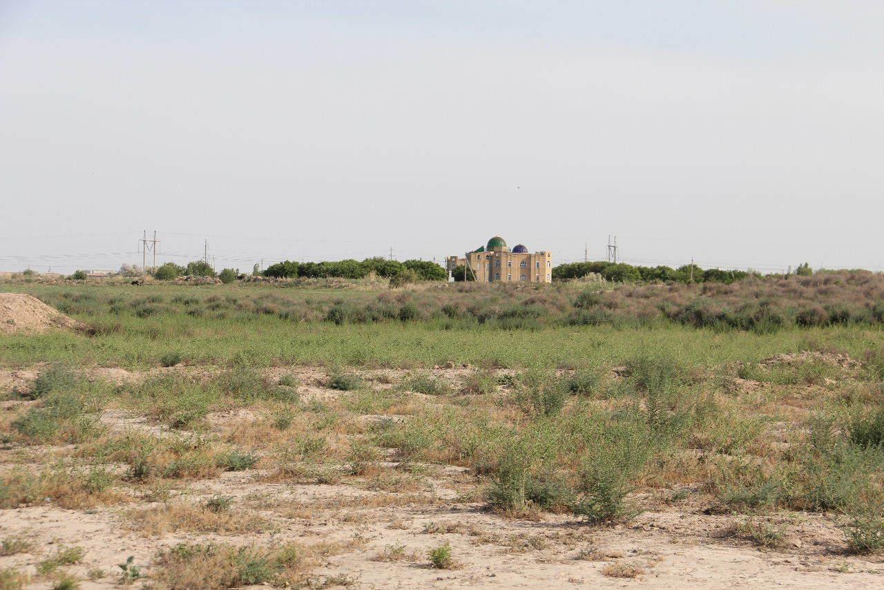 トルクメニスタンの旅(17) 世界遺産メルブ遺跡 キズカラ_c0011649_23464388.jpg