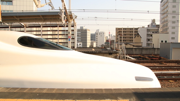 姫路からは山陽新幹線 N700系2000番台 X編成 X54編成_d0202264_447674.jpg