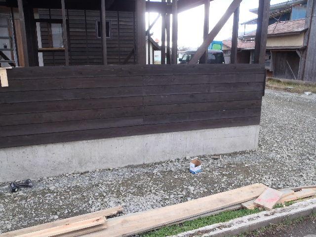 木造ガレージを造る  続き _f0105112_4295565.jpg